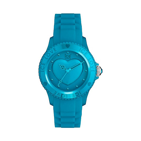 LO.FB.U.S.11 Damenuhr Ice-Love Blue Unisex