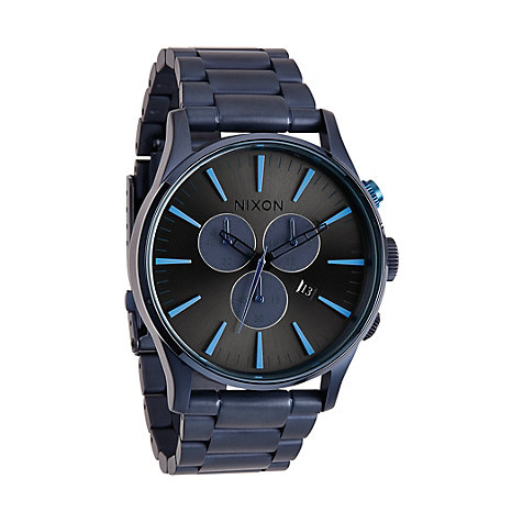 Nixon Herrenchronograph Sentry Chrono Deep Blue A386 1679