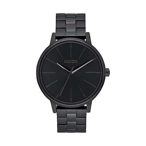 Nixon Damenuhr Kensington all black A099 001