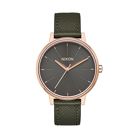 Nixon Damenuhr Kensington Leather A108 2283-00