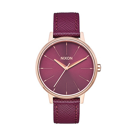 Nixon Damenuhr Kensington Leather A108 2479-00