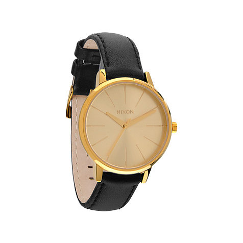 Nixon Damenuhr Kensington Leather Gold A108 501