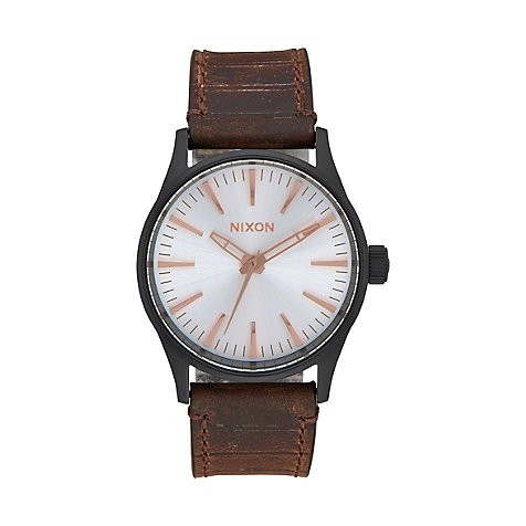Nixon Damenuhr Sentry 38 Leather A377 2358-00