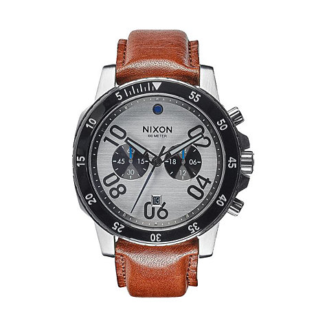 Nixon Herrenchronograph Ranger Chrono Leather A940 2092