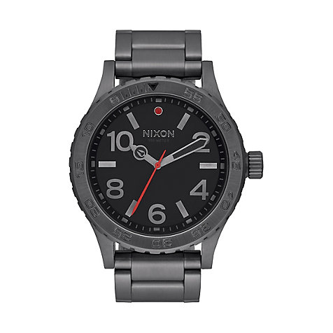 Nixon Herrenuhr 46 All Gunmetal A916 632
