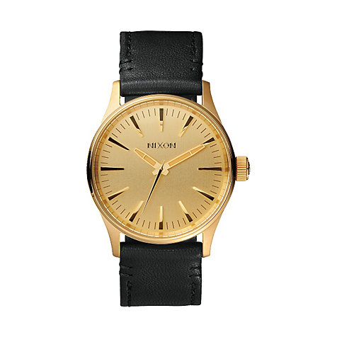 Nixon Herrenuhr Sentry 38 Leather A377 513