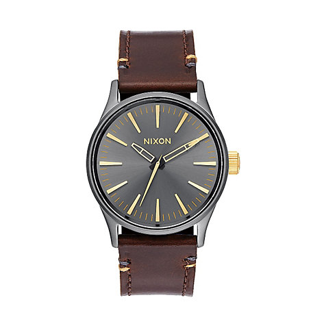 Nixon Herrenuhr Sentry 38 Leather A377 - 595