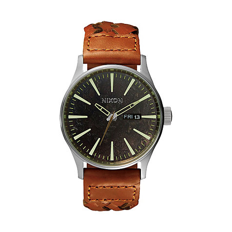 Nixon Herrenuhr Sentry Leather A105 1959