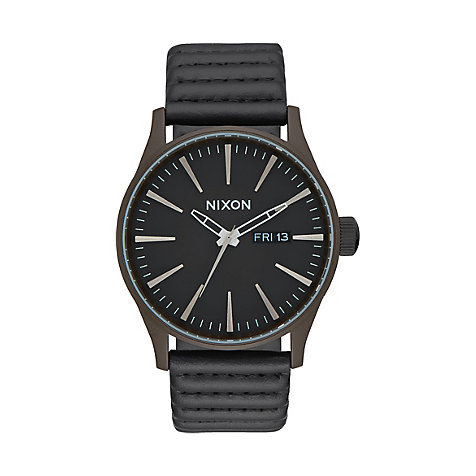 Nixon Herrenuhr Sentry Leather A105 2138-00