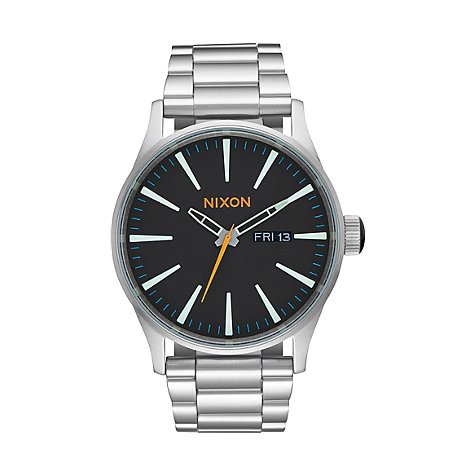 Nixon Herrenuhr Sentry SS Black A356-2336-00