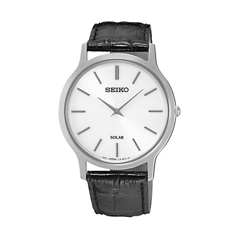 Seiko Herrenuhr Dress Solar SUP873P1