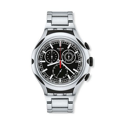 Swatch Herrenchronograph Black Energy YYS4000AG