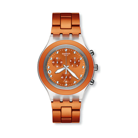 Swatch Chronograph Chrono - Full Blooded Naranja SVCK4051AG