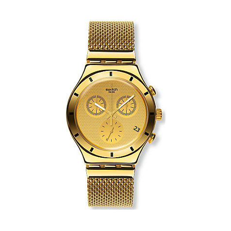 Swatch Chronograph Golden Cover L YCG410GA