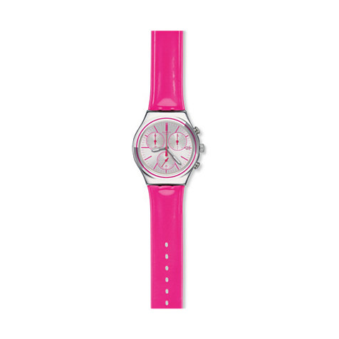 Swatch Chronograph Proud To Be Pink YCS587