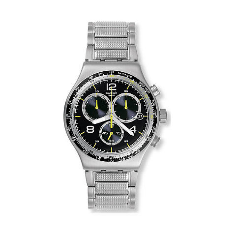 Swatch Chronograph Sprinkled Water YVS411G