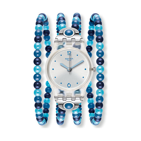 Swatch Damenuhr Blues Prohibition LK353