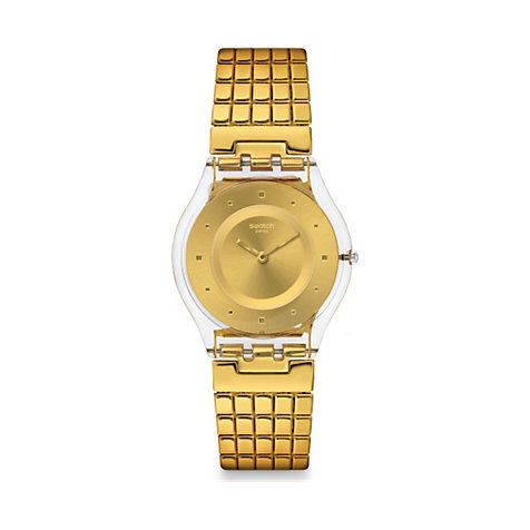 Swatch Damenuhr Golden Lips L SFK394GA