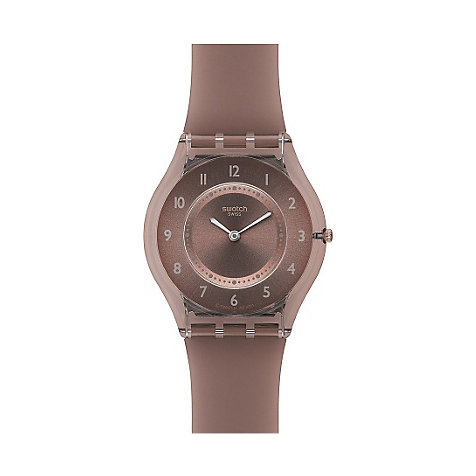 Swatch Damenuhr Grey Softness SFM119