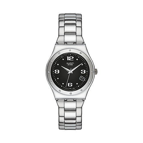 SWATCH Damenuhr Her Tender Black YLS433G