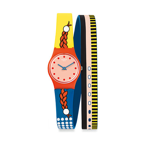 Swatch Damenuhr Jolies Couettes LO110