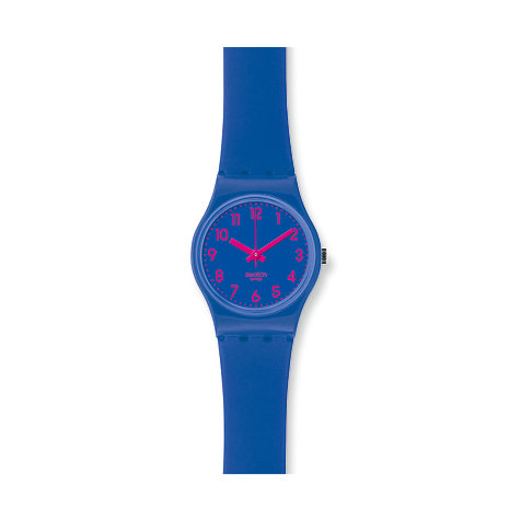 Swatch Damenuhr Lady Original - Biko Bloo LS115