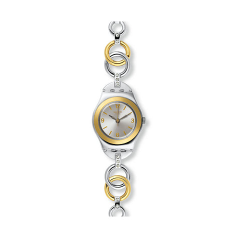 Swatch Damenuhr Ring Bling YSS286G