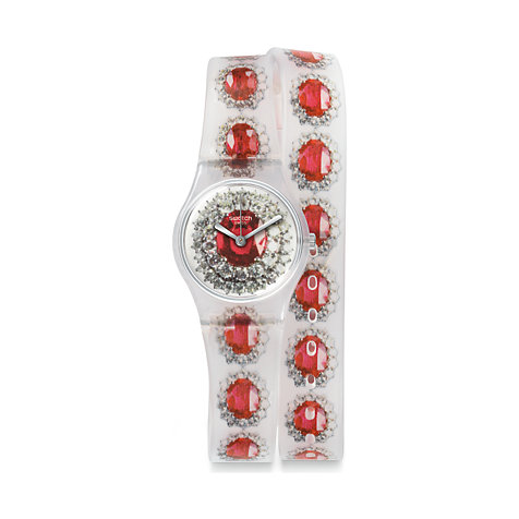 Swatch Damenuhr Ruby Silver LK342