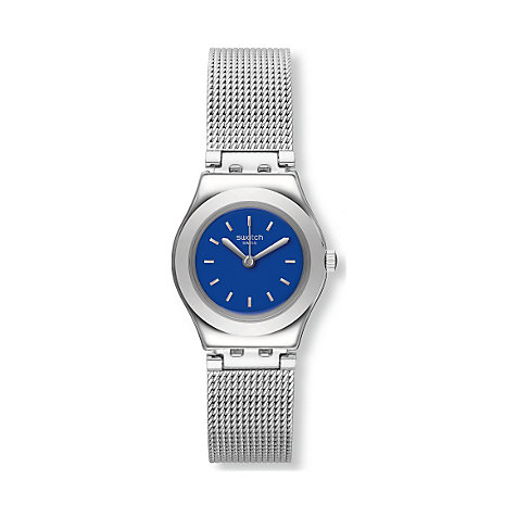 Swatch Damenuhr Twin Blue YSS299M