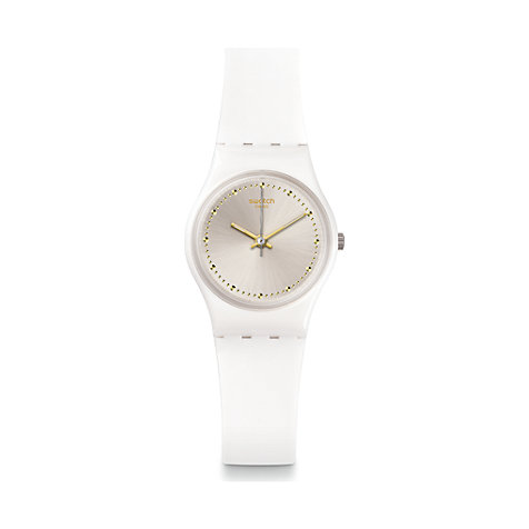 Swatch Damenuhr White Mouse LW148