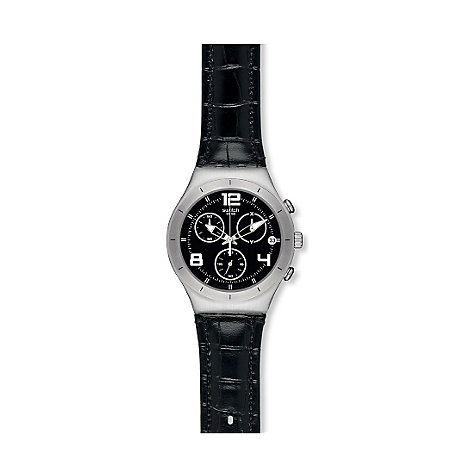Swatch Herrenchronograph Black Casual YCS569