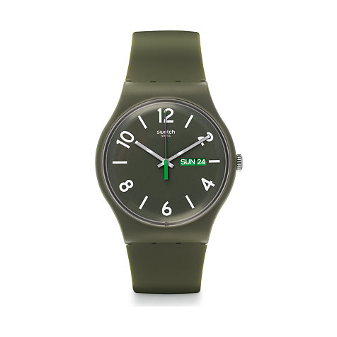 Swatch Herrenuhr Backup Green SUOG706