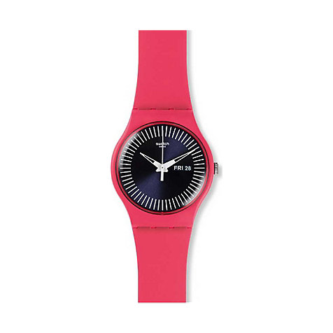Swatch Unisexuhr Berry Rail SUOP702