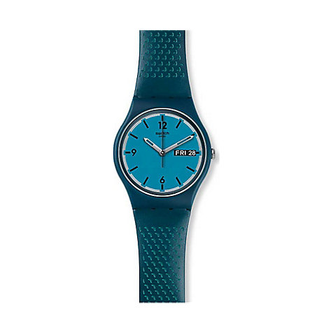 Swatch Herrenuhr Blue Bottle GN719