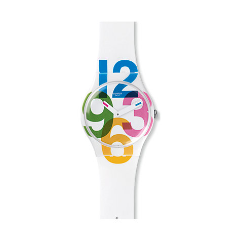 Swatch Herrenuhr Clockwise SUOW117