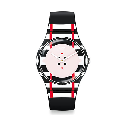 Swatch Herrenuhr Double Me SUOB129
