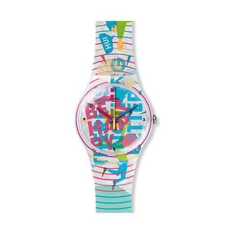 Swatch Herrenuhr Go Happy SUOZ196