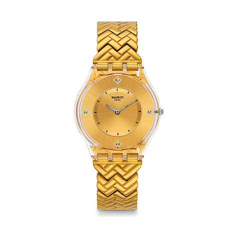 Swatch Herrenuhr Golden Street SFE106G