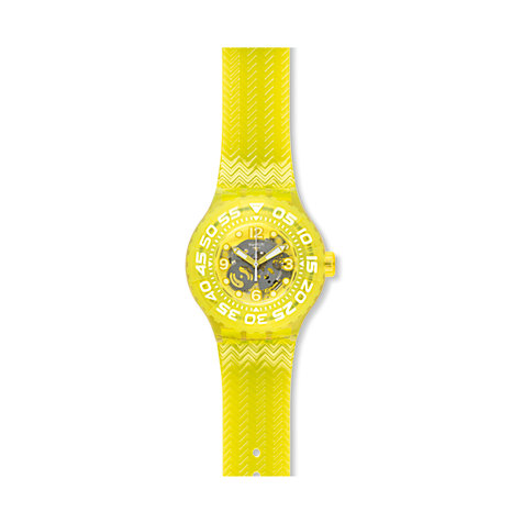 Swatch Herrenuhr Lemon Profond SUUJ101