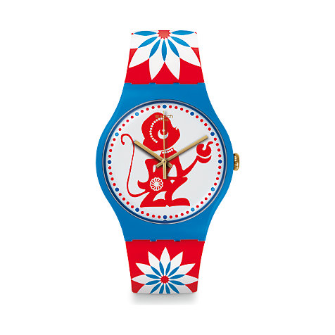 Swatch Herrenuhr Lucky Monkey SUOZ203