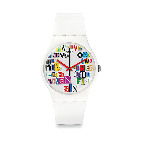 Swatch Herrenuhr Multi Collage SUOW132