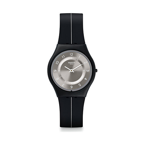 Swatch Herrenuhr My Silver Black SFB145