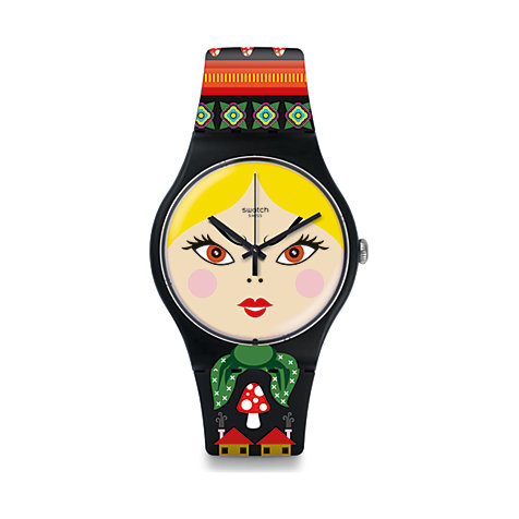 Swatch Herrenuhr Russian Beauty SUOB137