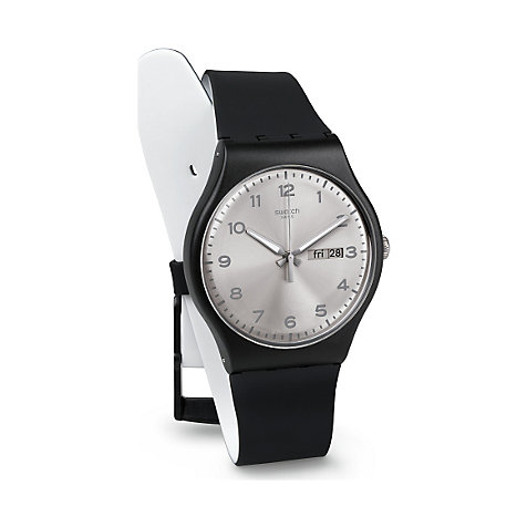 Swatch Herrenuhr Silver Friend SUOB717