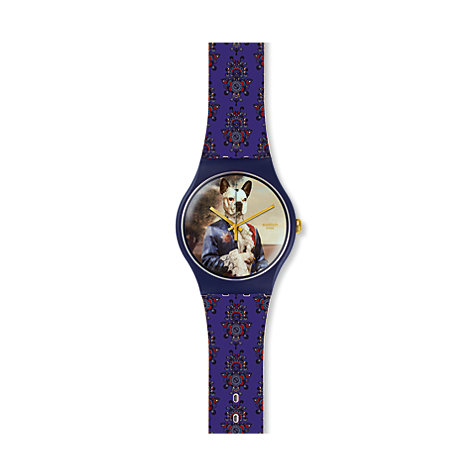 Swatch Herrenuhr Sir Dog SUON120