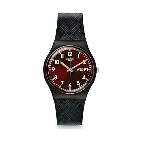 Swatch Herrenuhr Sir Red GB753