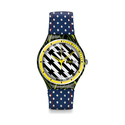 Swatch Herrenuhr Tiger Babs YGS7016