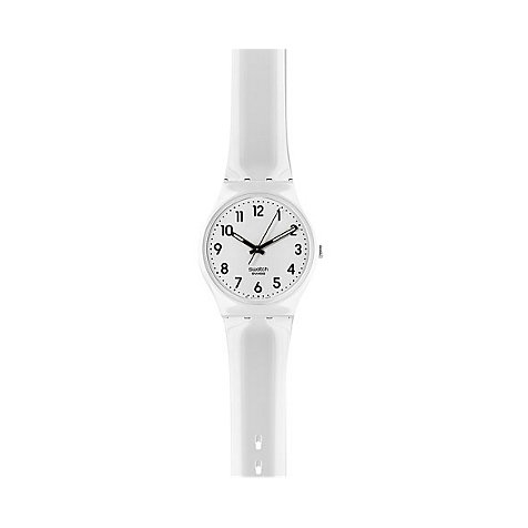 Swatch Unisexuhr Just White GW151