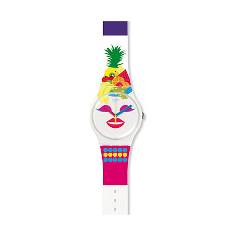 Swatch Unisexuhr so Frutti SUOW121