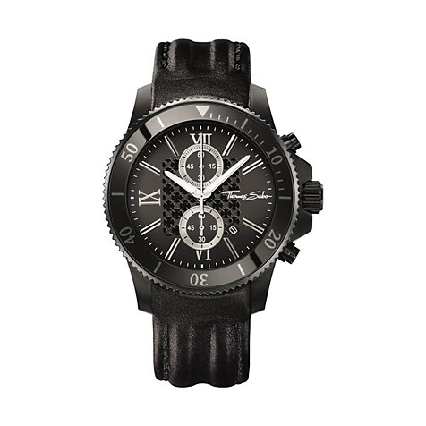 THOMAS SABO Herrenchronograph WA0200-213-203-44 MM